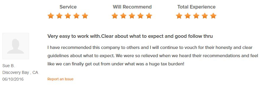 Curadebt Review Sue