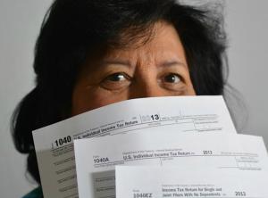 Tax Debt 1040 form
